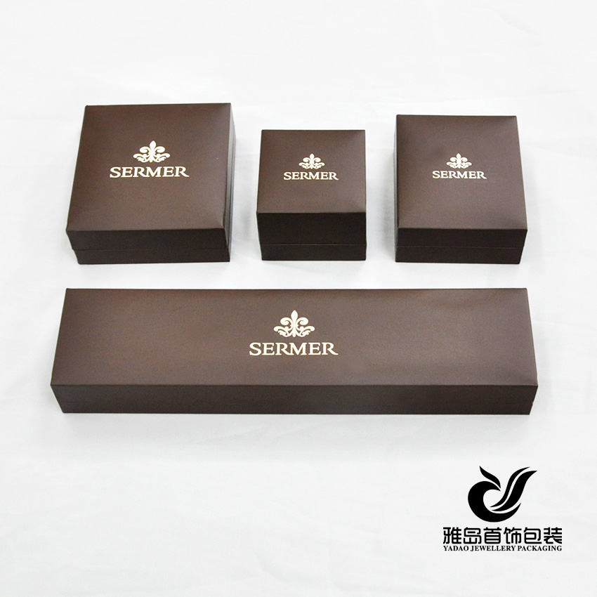 Leatherette paper jewelry box jewelry packing box jewelry for Custom jewelry packaging manufacturers
