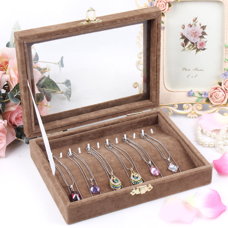 Beautiful And Fashion Jewelry Display Cases Storage For
