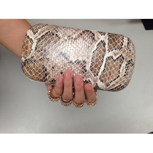 2014 fashion ladies diamond party bag skull leopard cheap funky clutch evening bags