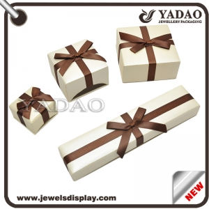 2015 Hot selling newest cheapest gift paper jewelry box