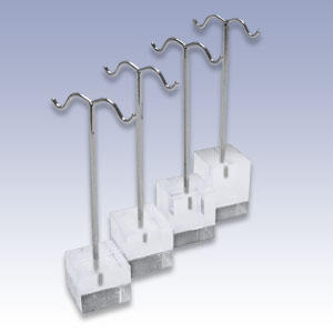 2015 New products different heights earring display stand for jewelry store from made in China
