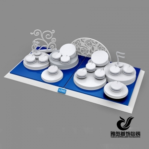 2015 Newest design acrylic engraving jewelry display props ,acrylic counter jewelry display ,acrylic jewelry exhibitor stand wholesale made in China