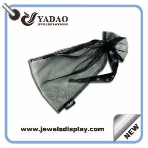 2015 Wholesale promotional jewelry gift bags jewelry organza bag