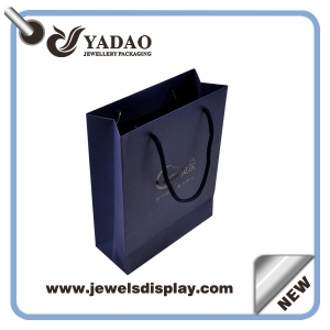 2015 cheap recycle paper bag,Luxury Custom gift paper bag,factory brown paper bag