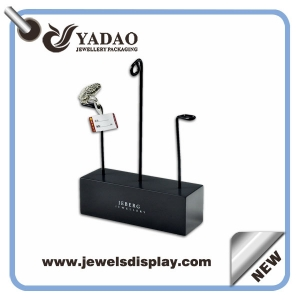 2015 newest design acrylic display stand for ring/earring made in China