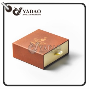 2017 new design---high end paper drawer box with cheap price for Las Vegas jewelry show