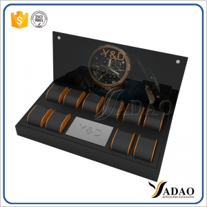 2017 new invention wholesale custom luxury wonderful jewelry display sets for watch/bangle/bracelet made by Yadao