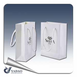 2017 new products new trend designable simple style paper bag shopping bag gift bag hand bag china supplier yadao