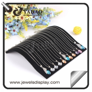 Beautiful black acrylic necklace pandent display stand holder made in China