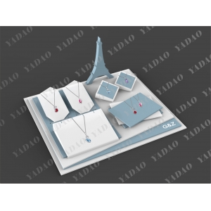 Beautiful new design jewelry display stand set for jewelry made in China