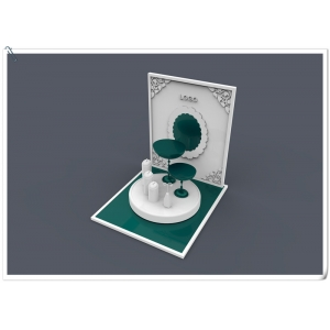 Beautiful newest design acrylic jewelry display stand set with your logo