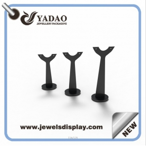 China factory of Luxury custom acrylic jewelry displays for shop counter and cabinet showcase and exhibitor earring display tree with custom sample and logo offered