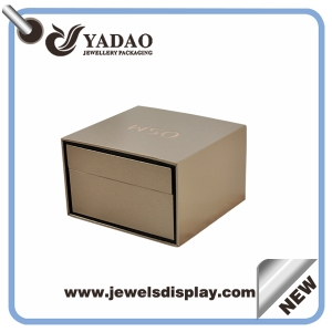 China luxury jewelry box custom made jewelry ring box handmade box for jewelry for girls