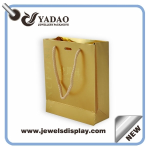 China manufacturer craft paper bags wholesale paper gift box recyclable jewelry packing bag