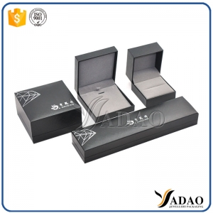 China supplier sales custom paper jewelry box , jewelry box New arrival wholesale wedding ring box with led light PU jewelry boxes