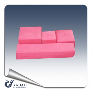 Custom Gift Boxes pink color Wholesale Luxury Packaging Jewelry Boxes