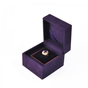Custom High-End Microfiber Suede Jewelry Box Set