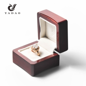 Custom Luxury wooden jewelry set box,jewelry display box