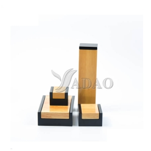 Custom wholesale handmade glossy lacquered wood fine jewelry gift packaging boxes