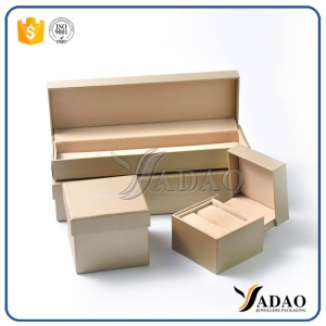 Customize wholesale factory price free logo plastic jewelry set box including bracelet pendant ring bangle chain earring box