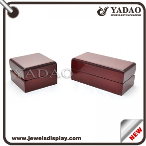 Custormized solid wood jewelry box high quality jewellery wooden box