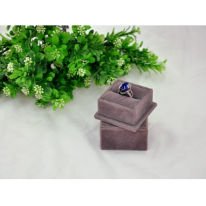 Cute velvet wedding ring holder box,jewelry box ring holders,fancy tissue box holder
