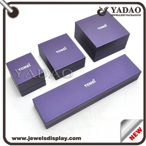 European graceful design packing Box for Jewelry collections gift box high-end customd