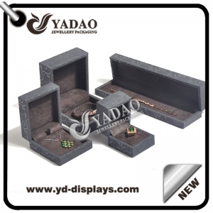 Fashion handmade custom design jewelry plastic gift boxes for jewelry packaging wholesale supplier