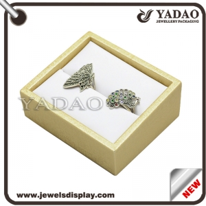 Fashion leather jewelry box tray for ring bangle etc. made in China