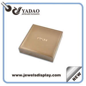 Fashion luxury wholesale jewelry box packaging sets , clear jewelry box packaging, jewelry gift packaging box for ring, necklace