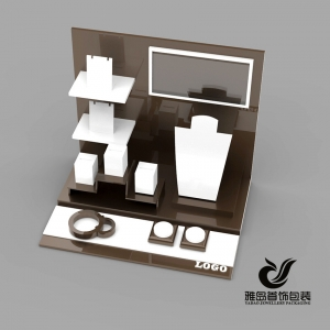 Good quality jewelry display stand set for earring