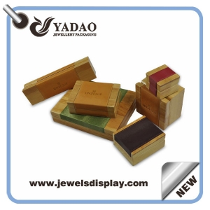 Good quality wooden jewelry display box for ring bangle watch etc.