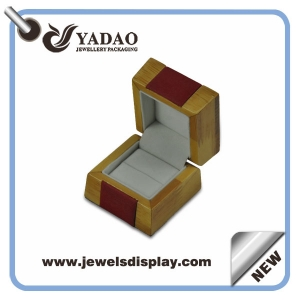 High Quality Customized Jewelry box & Luxury Wooden Jewelry Box for Ring Packaging and Jewellery Display Showcase