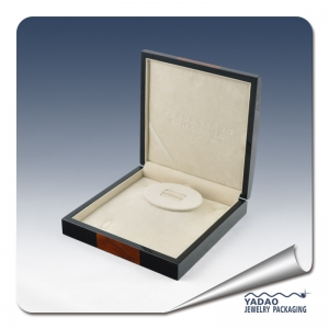 High quality black wooden ring box jewelry boxes for jewelry gift boxes from yadao in the China MTH002