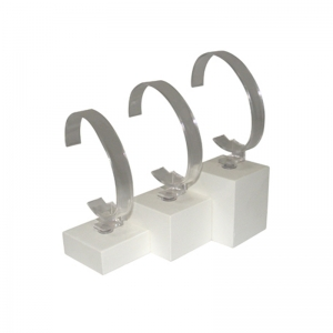 High quality different size acrylic display stand bracelet holder for watch or bangle offer factory price