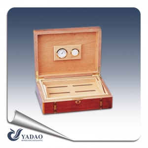 Hot selling new wooden jewellery boxes jewellery gift boxes for ring package free print logo and can custome made in China