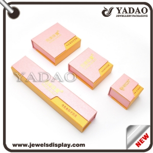 Hot selling paper jewelry package boxes