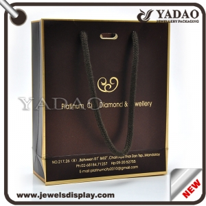 Hot selling paper shopping bag with logo made in China