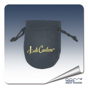 Hot selling velvet pouch for jewelry pouches with logo