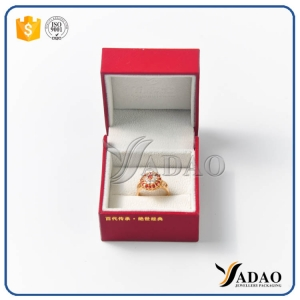 Jewellery Packaging Custom Jewelry Box New Arrival White Leather Gift Boxes With Velvet Insert For Ring Necklace Bracelet