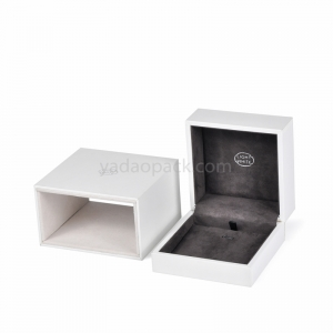 Jewelry box with a protection case to have a slide show