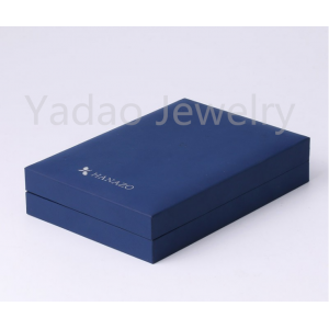 Jewelry packaging gift boxes leather jewelry boxes, gift box sets, boxes for necklace earring in the same box