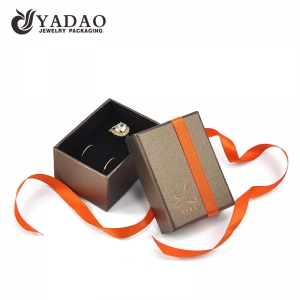 Jewelry packaging ring box luxury jewelry box customize with logo