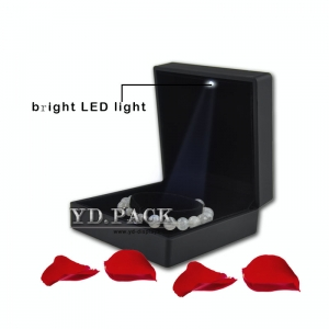 Luxury led light jewelry box & jewelry display box for bangle/watch and bracelet