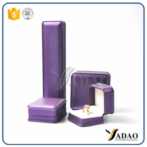 Make Your Jewelry Perfect-Design elegant wholesale black jewelry set box including ring/bracelet/pendant/earring/chain box