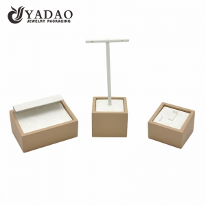Nice durable luxury lovely designable  erogenous three-in0one customizable ring/earring display stands
