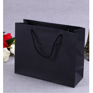OEM/ODM Production Brand Name Luxury Design Printing Folded Brown Craft Custom Kraft Paper Shopping Bag With Rope Handle