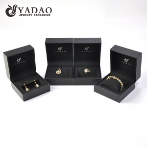 OEM ODM Customized Design Plastic Box Jewelry Package Set For Ring Pendant Watch Earring Bracelet Necklace