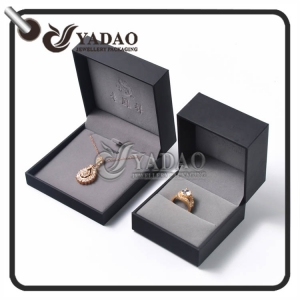OEM/ODM plastic jewelry box for ring or pendant package made in big professional factory directly on sale.