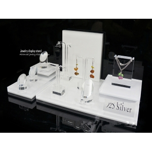 TSD-A004 Cosmetic Shop Design Custom Countertop Acrylic Display Stand/Wholesale Jewelry Display/Acrylic Cosmetic Display